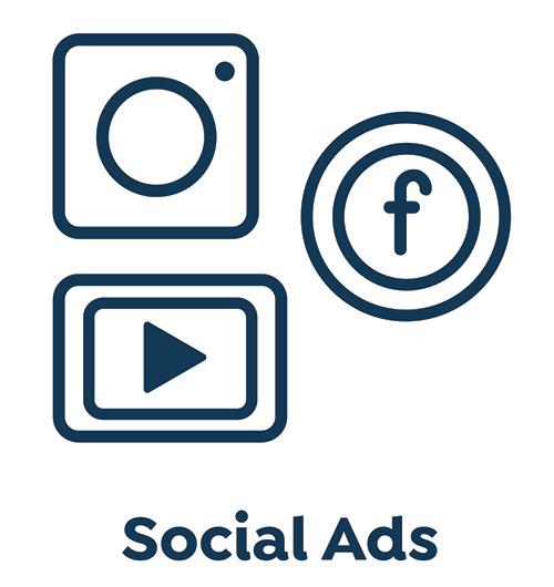 utilize social ads