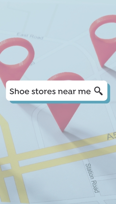 searching for nearby local stores