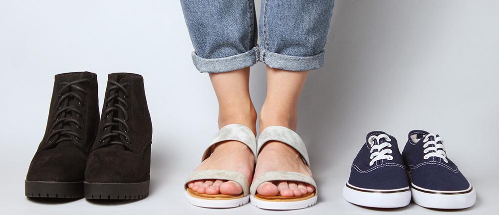 content marketing shoe shop