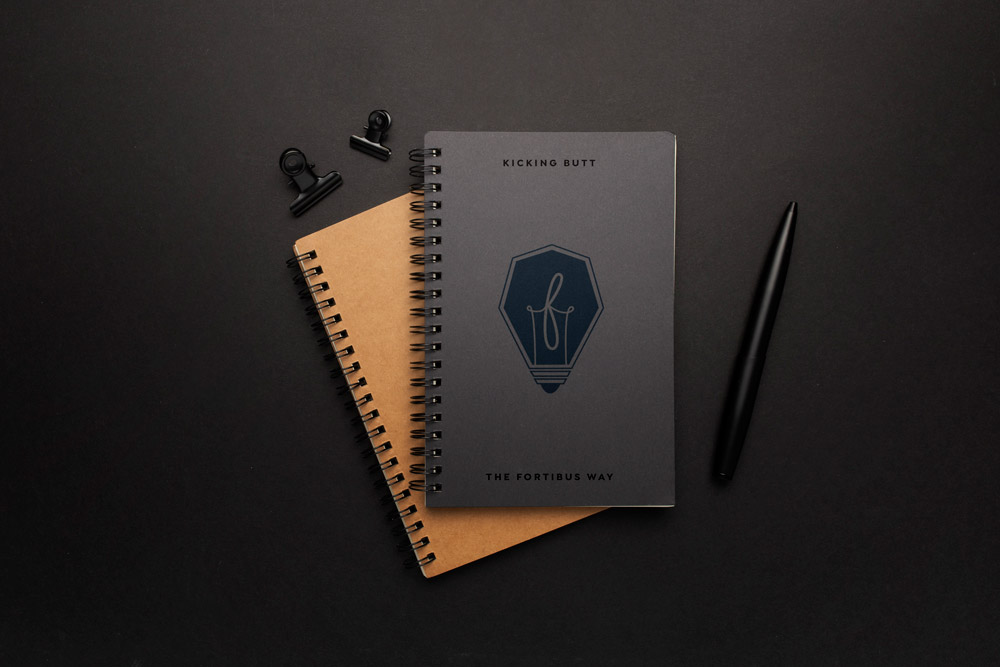 your logo on marketing materials